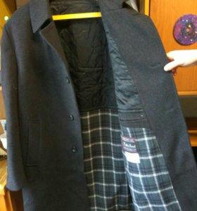 Пальто мужское, шерстяное