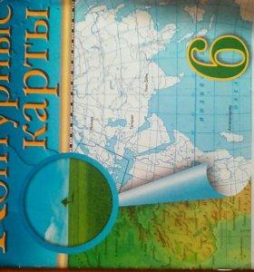 Конт. карта,общест., ист.России (2)лит.(2) 6 класс