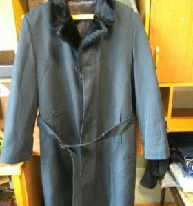 Мужское Пальто-шуба