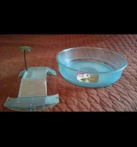 Террариум для водоплавующей черепахи
