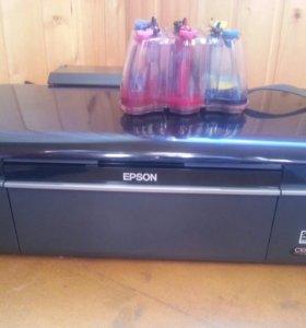 Принтер с СНПЧ профессиональный Ерson T50