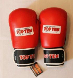 Боксерские перчатки TOP TEN AIBA 10 oz