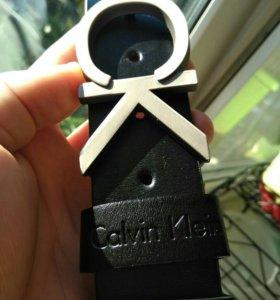Мужской ремень из кожи Calvin Klein