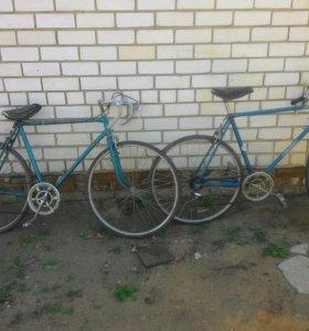 советский спортивный велосипед
