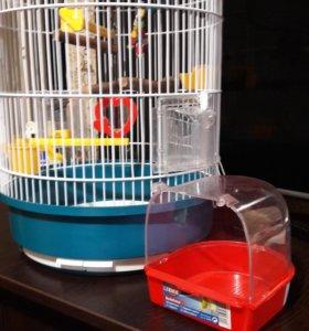 Клетка для попугая (птиц) Ферпласт