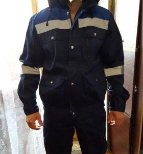 Летний костюм( куртка + полукомбинезон)