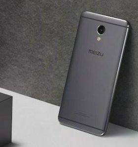 "Meizu M5 Note 5.5"" 3/32Gb Новый + стекло, чехол"