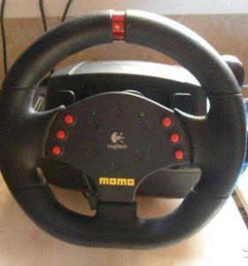 Momo Racing Force Feedback Wheel-Logitech