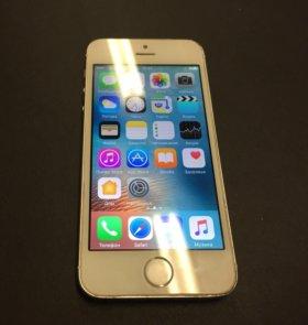 iPhone 5s Silver 16Gb хорошее состояние