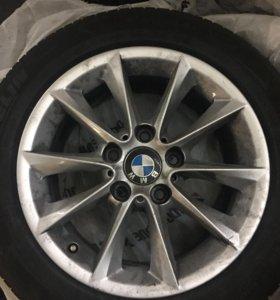 Литые диски BMW R16 с резиной (3 шт.)