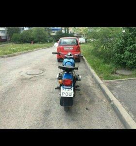 Мотоцикл Урал с люлькой
