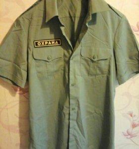 Рубашка (охрана)х.б.