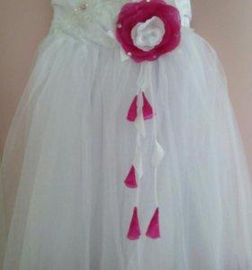 Платье для девочки на любой праздник
