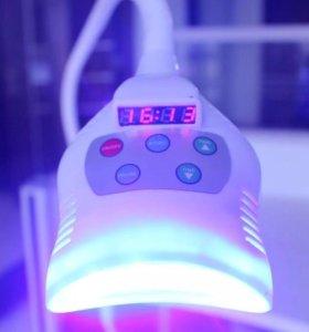 Лампа led и расход.материалы для отбеливания зубов