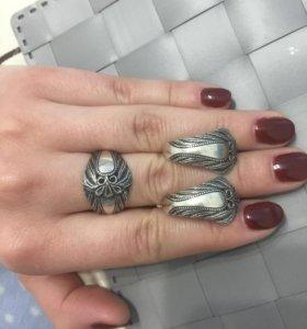 Набор из чернённого серебра