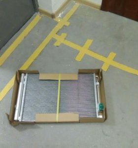 Радиатор кондиционера Хендай Солярис