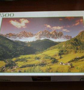 Пазл Южный Тирол (горы) 1500 деталей
