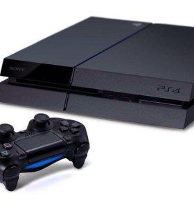 PlayStation 4 500gb + много игр