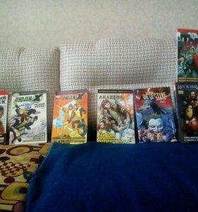 12 комиксов Marvel и DC