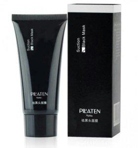 Черная маска-пленка Pilaten Suction Black