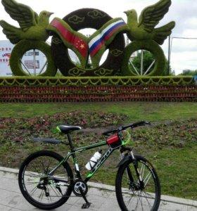 Велосипед новый 10скоростей отл качества
