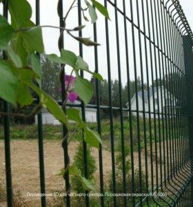 Заборная Сетка. Панельное ограждение