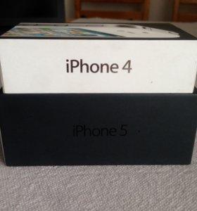 Коробки для IPhone 4, 5