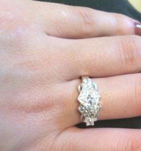 Серебряные кольца новые