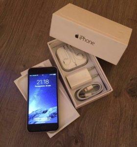 iPhone 6 64gb черный Touch ID (refurbished)