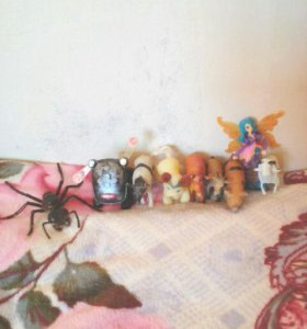 Животные и фея.