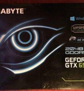 Видеокарта GTX 650 ti 2gb