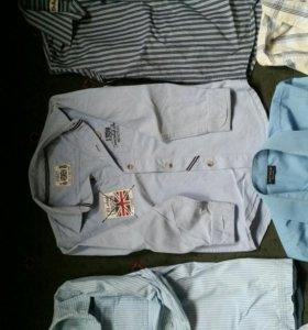 Рубашки фирменные 116-128