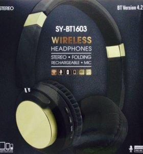 Новые Bluetooth-наушники Wireless 1603