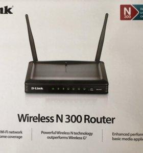 Wi-Fi роутер Wireless N300
