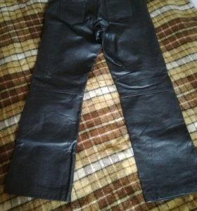 Штаны кожаные мужские.
