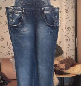 Комбинезон джинсы