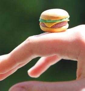 колечко гамбургер