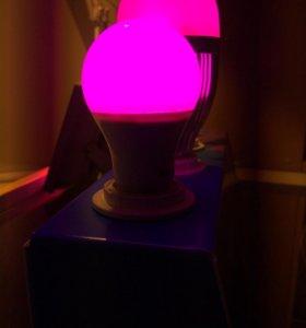 LED лампа для растений 9Вт