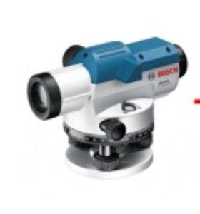 Оптический нивелир Bosch GOL 26 D + штатив + рейка