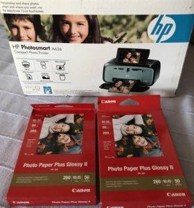 Продаю фотопринтер HP Photosmart