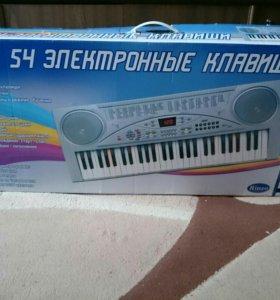 Электронные клавиши D-00006(типо синтезатор)
