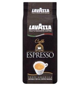 Lavazza Caffe Espresso 1кг кофе в зернах