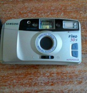 Плёночный фотоаппарат samsung fino 30s