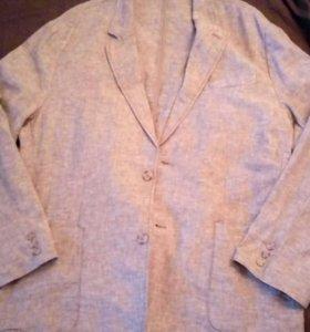 Пиджак летний SELA,лён,размер 52,новый
