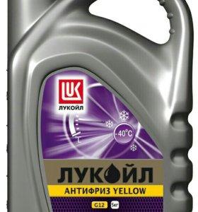 Антифриз желтый 1 кг