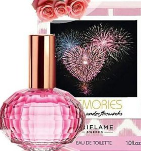 Memories flirting under fireworks