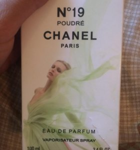 Духи Chanel 19,оригинал 100мл