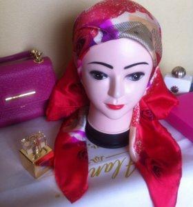🎁Новый Valentino платок натуральный шелк