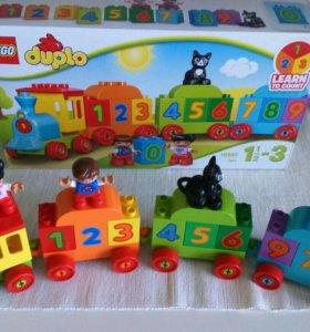 Поезд лего дупло игрушка Lego duplo