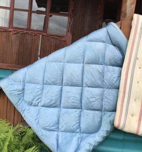 Одеяло пуховое и ватное